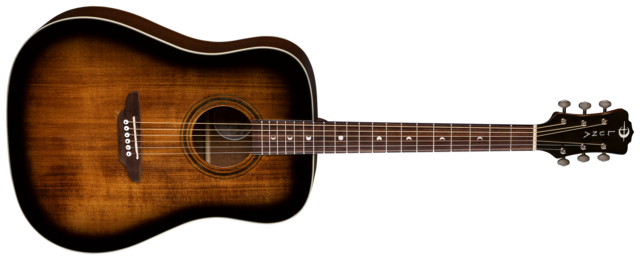 Art Vintage Distressed Dreadnought - Solid Top