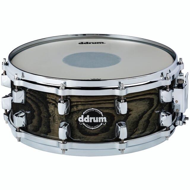 Dominion 5.5x14 Snare Trans Black