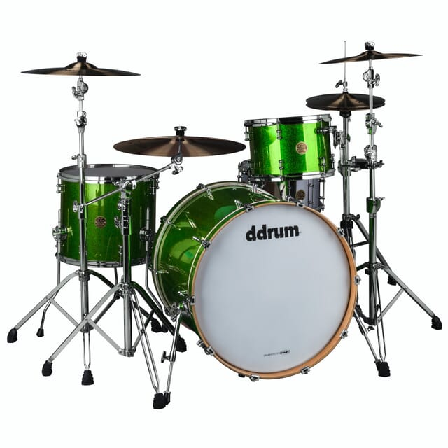 Dios 3pc Emerald Green Spkl Shell Pack