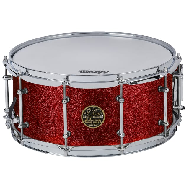 Dios Mpl  6.5x14 Snare Red Cherry Spkl