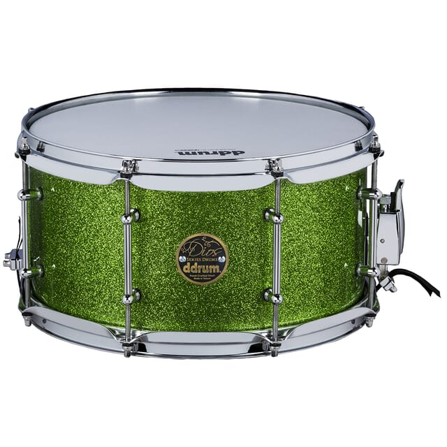 Dios Maple 7x13 Snare Green Sparkle