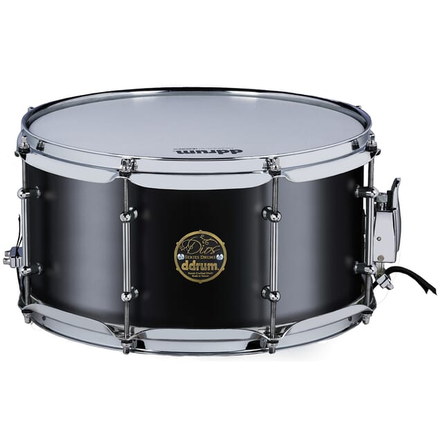 Dios Maple 7x13 Snare Satin Black