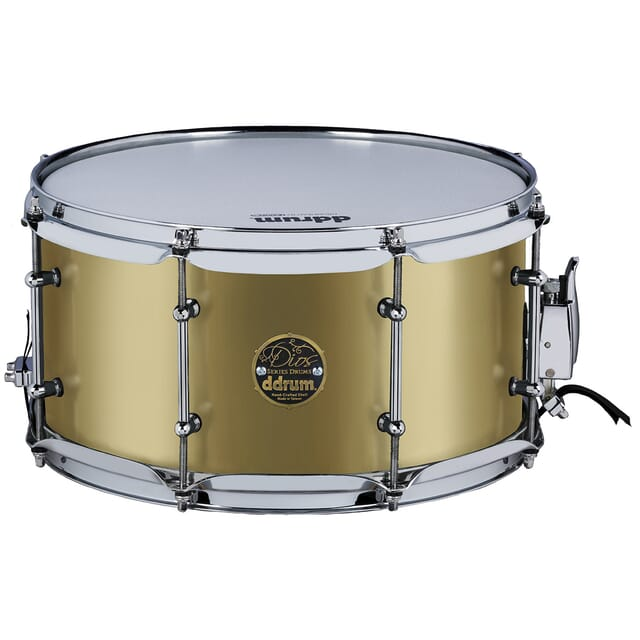 Dios Maple 7x13 Snare Satin Gold