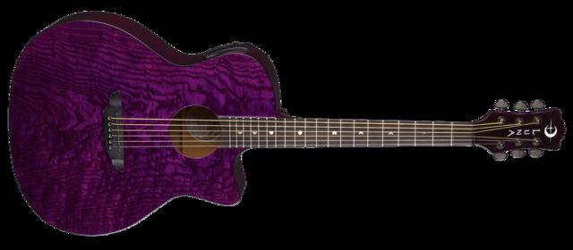 Gypsy Quilt Ash A/E - Trans Purple