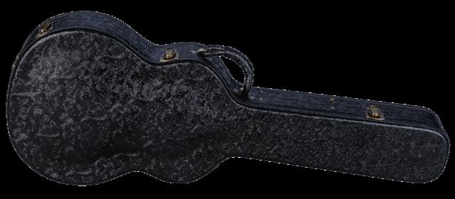 Hard Case Tooled Leather Folk / Parlor