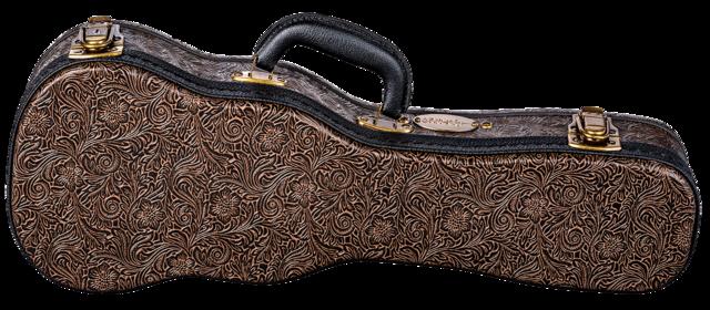 Hard Case Tooled Leather Soprano Ukulele