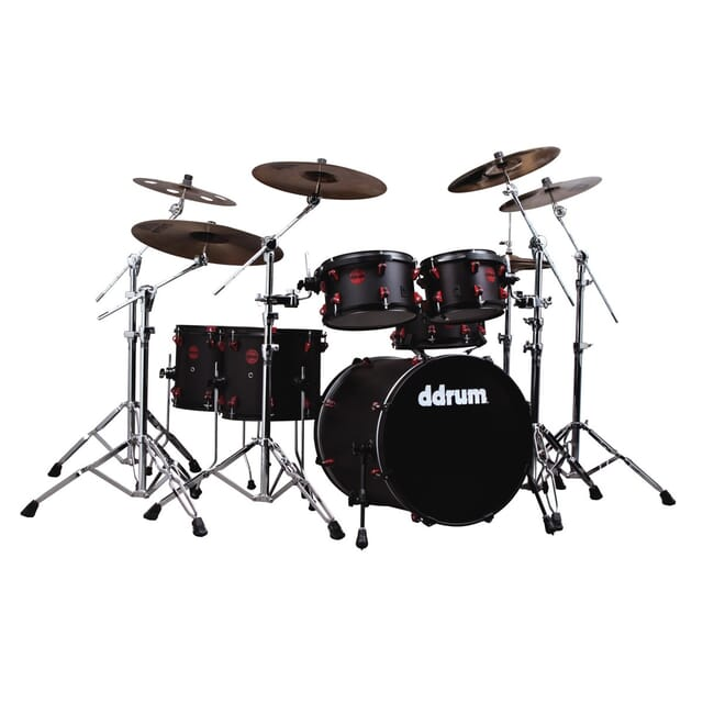 Hybrid - 6pc - Satin Black - Shell Pack