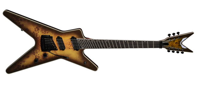 ML Select 7 String Multiscale Kahler Burled Maple SNBB