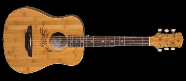 Safari Bamboo Travel Guitar w/ Gigbag