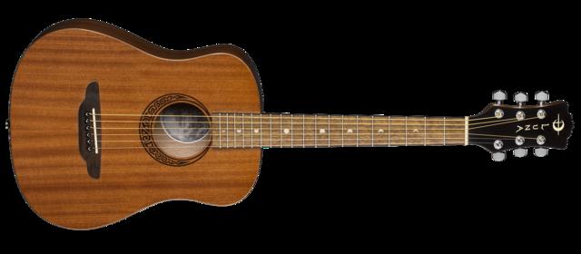 Safari Muse Travel Guitar - Mahogany w/ Gigbag