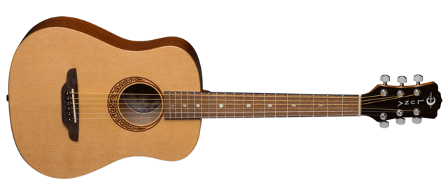 Safari Muse Travel Guitar - Spruce w/ Gigbag