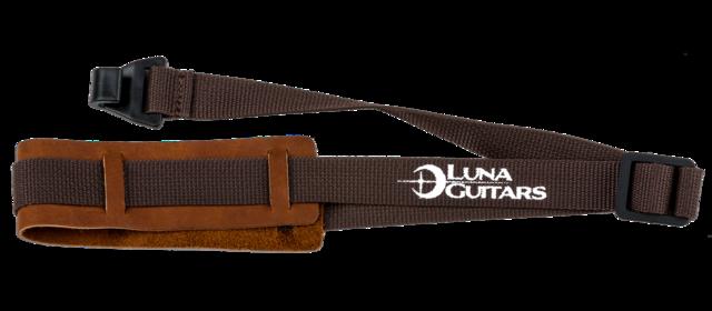 Ukulele Strap w/ Leather Pad - Brown