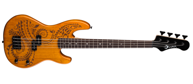 Tattoo Electric Bass - Short Scale