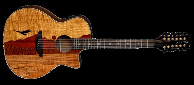 Vista Eagle 12-String Cutaway A/E with Hardshell Case