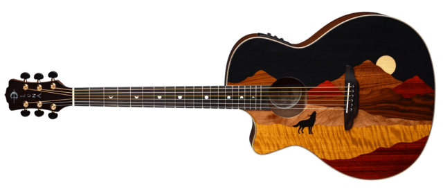 Vista Wolf Lefty A/E with Hardshell Case